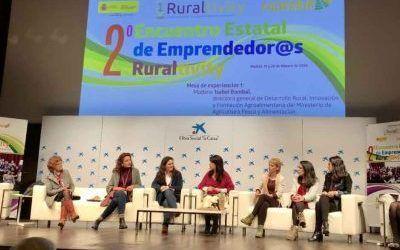 2º encuentro estatal de emprendedoras Ruraltivity