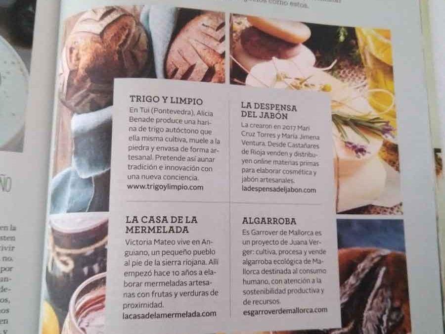 Reportaje revista CuerpoMente
