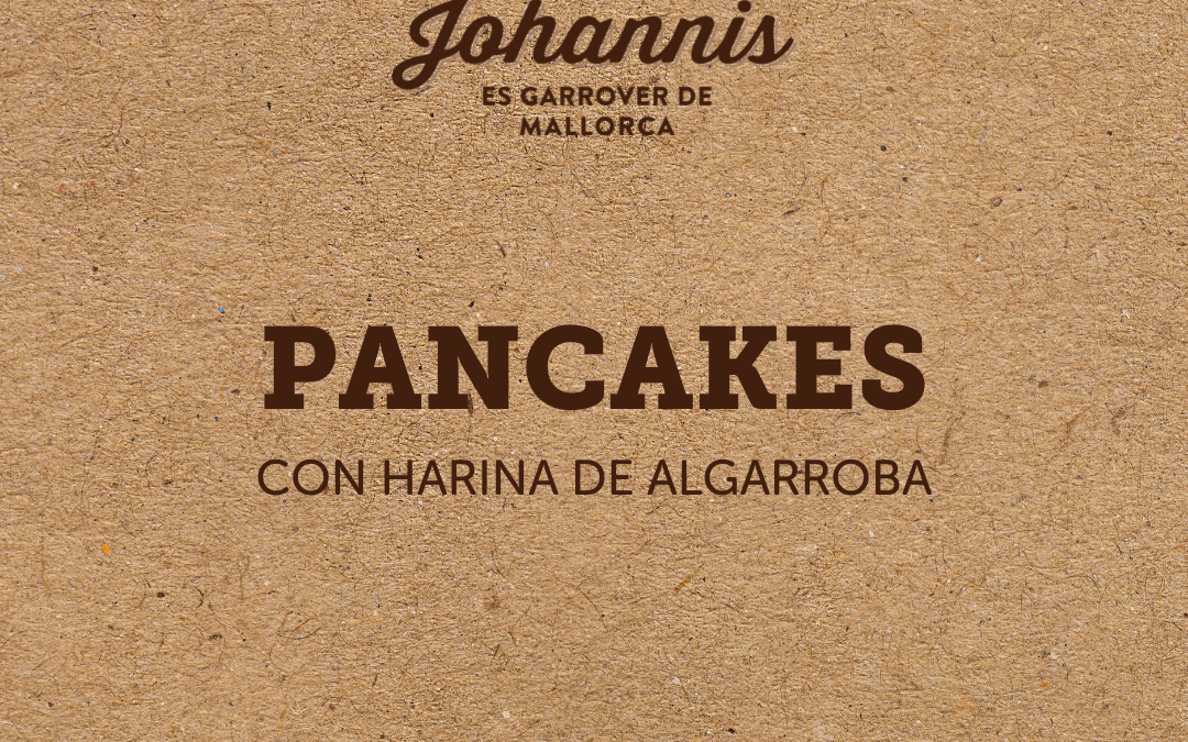 Pancakes integrales de algarroba